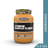 Big Muscles Xtreme Muscle Fusion 2.2 Lb Strawberry