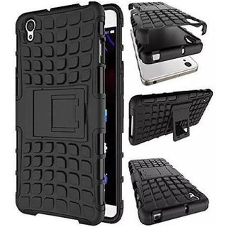 Vivo Y51L Cases with Stands 2Bro - Black