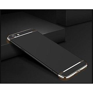 Oppo A57 Plain Cases SUNNY FASHION - Black