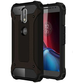 Moto G4 Plus Cover by Norby - Black