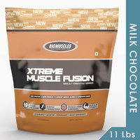 Big Muscles Xtreme Muscle Fusion 11Lbs Milk  Chocolate
