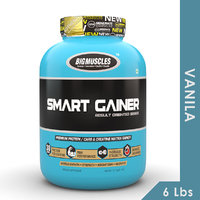 Big Muscles Smart Gainer 6 Lb Vanilla