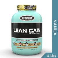 Big Muscles Lean Gain 6 Lb Vanilla