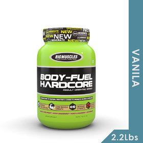 Big Muscles Bodyfuel Hardcore 2.2 Lb Vanilla
