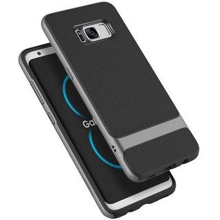 Galaxy S8 Plus Plain Cases Rock - Grey