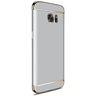 Samsung Galaxy S7 Edge Plain Cases 2Bro - Silver