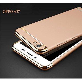 Oppo A57 Plain Cases SUNNY FASHION - Golden
