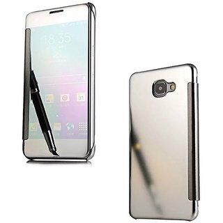 Samsung Galaxy C9 Pro Flip Cover by YGS - Silver