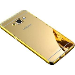SGA Mirror Back Cover for Samsung Galaxy J7 - 6 (New 2016 Edition) - Golden