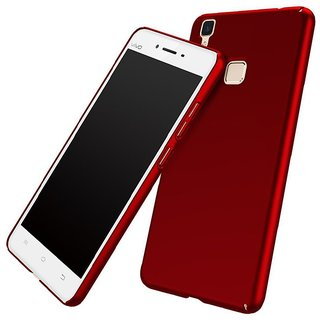 Vivo V3 Plain Cases KTC - Red