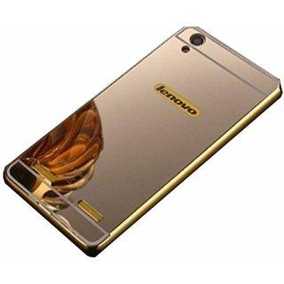 KTC Golden Mirror Back Cover For Lenovo K3 (A6000) Mobile Phone