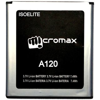 Micromax Canvas 2 A120 2000 mAh Battery by Isoelite