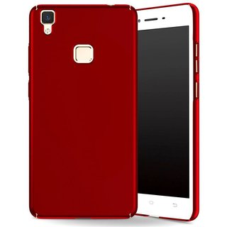 Vivo V3 MAX Plain Cases KTC - Red
