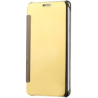 Samsung Galaxy J7 Prime Flip Cover by YGS - Golden