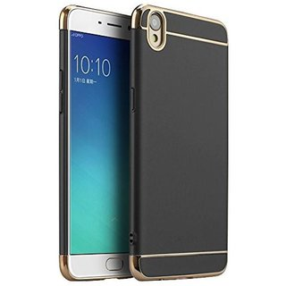 Oppo F1 Plus Cover by SUNNY FASHION - Black