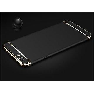 Oppo A57 Plain Cases Motomo - Black