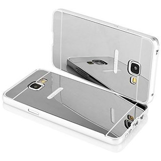 Samsung Galaxy J5 Prime Mirror Back Covers 2Bro - Silver