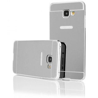 Samsung Galaxy C9 Pro Mirror Back Covers Mintzz - Silver