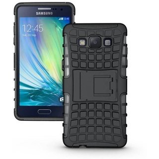Samsung Galaxy E7 Case With Stand by Cel - Black