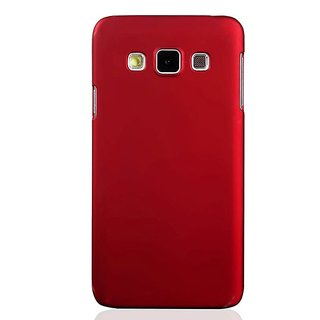 Mercator Plain Back Cover for Samsung Galaxy J7 2016 - Red