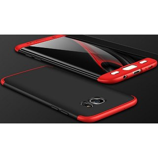 Samsung Galaxy J7 Prime Hybrid Covers ClickAway - Red