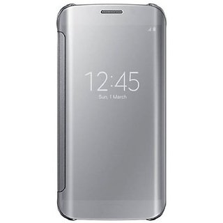 Samsung Galaxy S7 Edge Flip Cover by 2Bro - Silver
