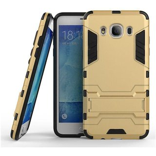 Hybrid Armor with Kick Stand  Back Cover Case for Samsung Galaxy J7 2016