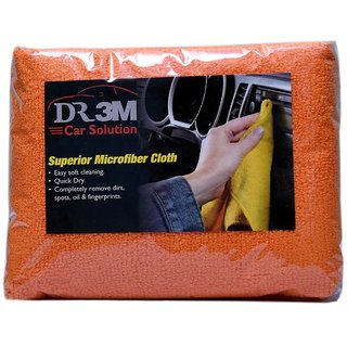 CAR MICROFIBER CLOTH -ORANGE