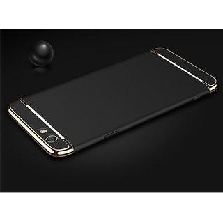 Oppo F3 plus Plain Cases ClickAway - Black