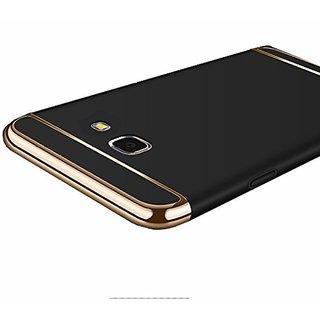 Samsung Galaxy J7 Prime Plain Cases ClickAway - Black