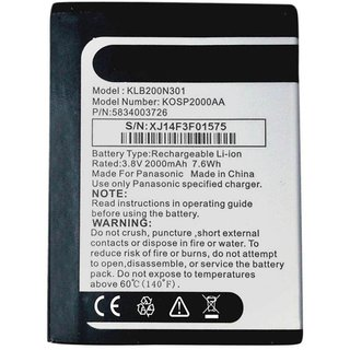 Panasonic P41 2000 mAh Battery by ClickAway