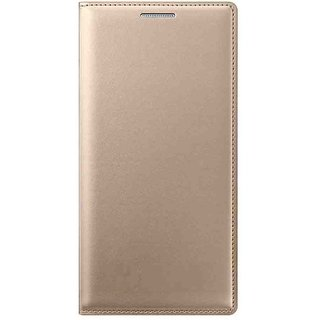 Vivo Y51L Flip Cover by My Style - Golden