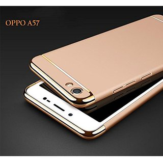 Oppo A57 Plain Cases SUNNY FASHION - Golden