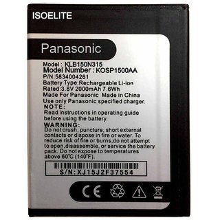 Panasonic T40 1500 mAh Battery by Isoelite