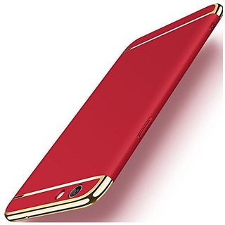 Vivo Y53 Plain Cases 2Bro - Red