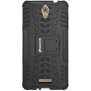 Coolpad Mega 2.5D Case With Stand by AMZER - Black