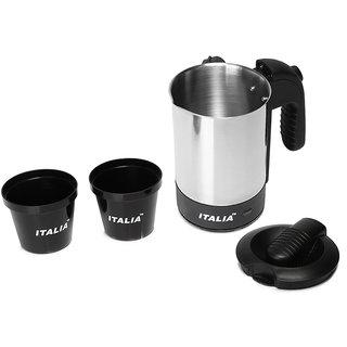 IK-1403, 0.5 liter 1000-watt electric tea kettle stainless steel Water heater