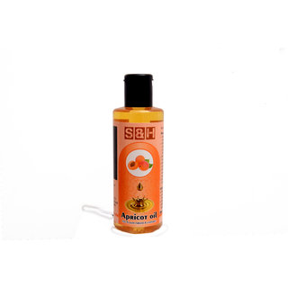 S  H 100  natural and pure apricot oil 200ml