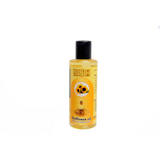 S  H 100  natural cold press sunflower oil 200 ml