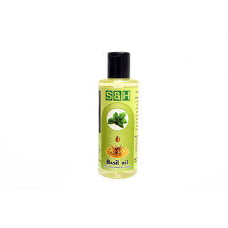 S & H 100 % natural and pure basil oil 100 ml