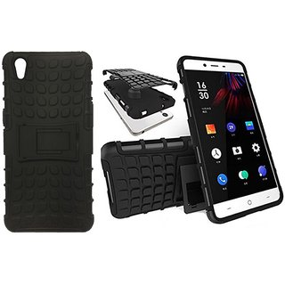Oppo A37 Defender Series Covers Coverup - Black