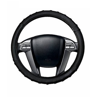 Autonext Finger Grip Car Steering Cover Black  For Mahindra Xylo