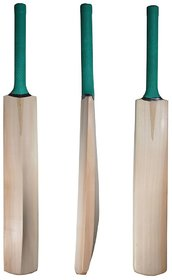 Best Ideas Original Kashmir Willow Cricket Bat for Leather Ball with 3 Rubber Singapore Can Flexible Handle  Free Cover
