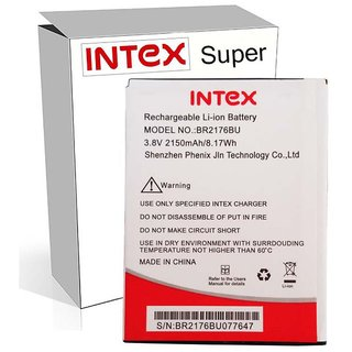 intex Aqua Super 2150 mAh Battery by Intex