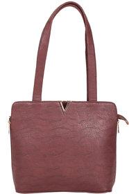 Zornna Women's Brown Shoulder Bag