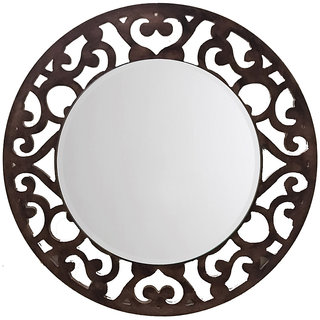 Aasra Decor Floral Mirror
