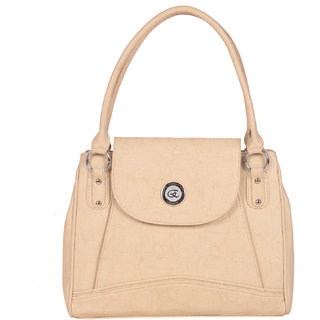 Zornna Women's Beige Shoulder Bag