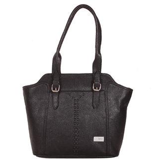 Zornna Women's Black Shoulder Bag