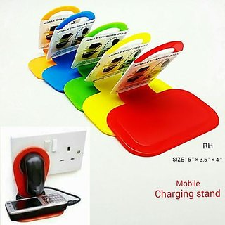 Kudos 3 pcs Mobile Phone Charger Holder/Mobile Charger Stand/Mobile Charger Station/Mobile Charger Assistant
