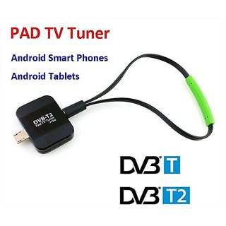 Artek DVB-T2  Dongle Receiver HD Digital TV Tuner Satellite Stick for Android Phones